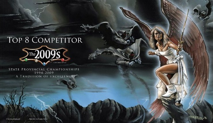 the 2009s top 8 playmat